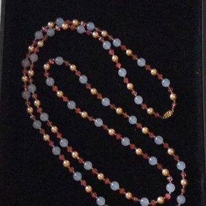 Gorgeous Vintage Long Bead Necklace